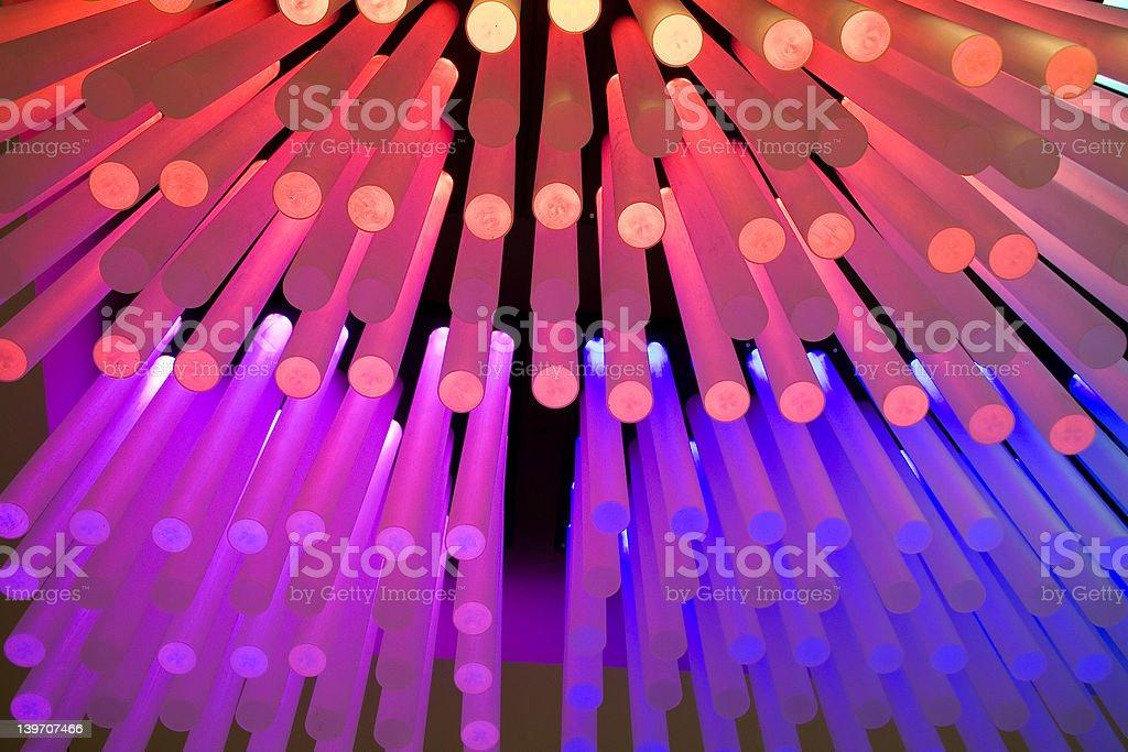 Light Sticks royalty-free stock photo