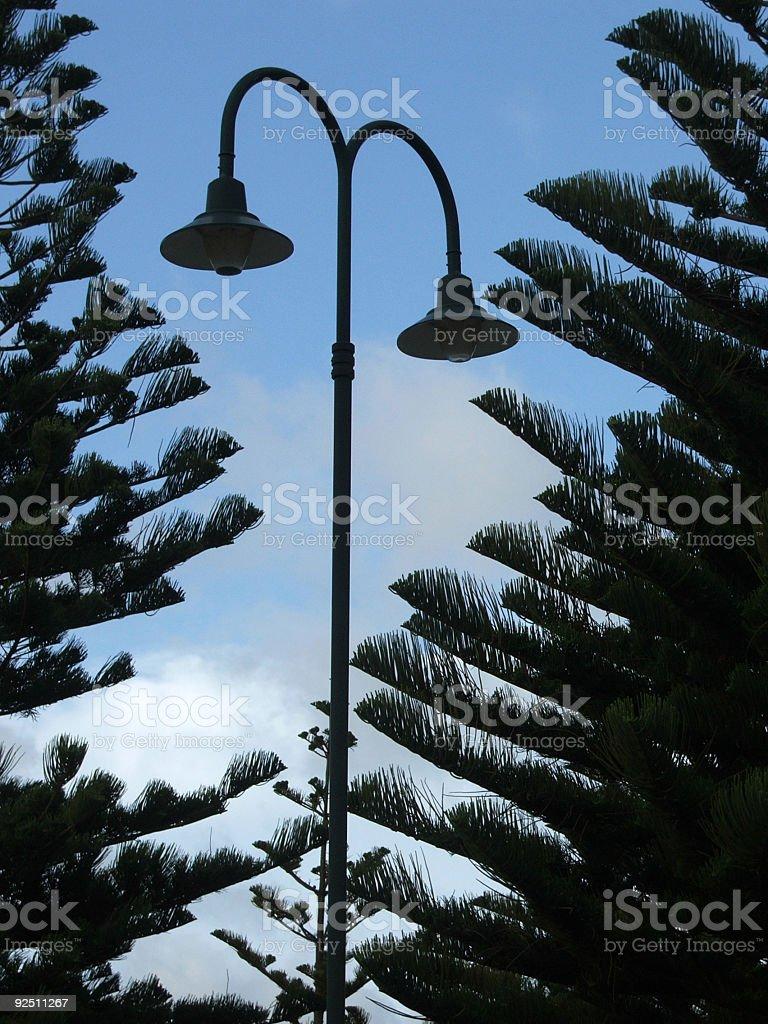 Light - street lamp stock photo