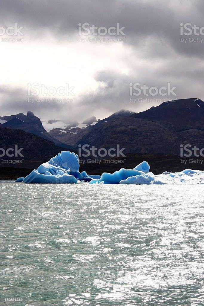 Light sun and ice royalty-free stock photo