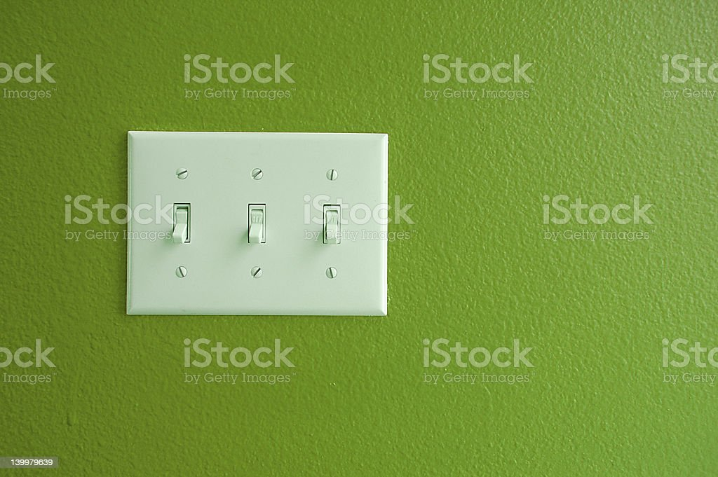 Light Switch royalty-free stock photo