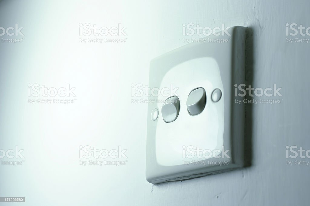 Light Switch royalty-free stock photo
