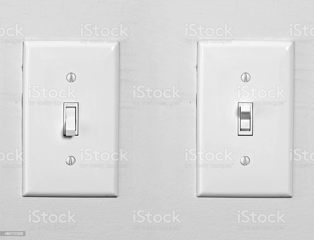 Light Switches royalty-free stock photo