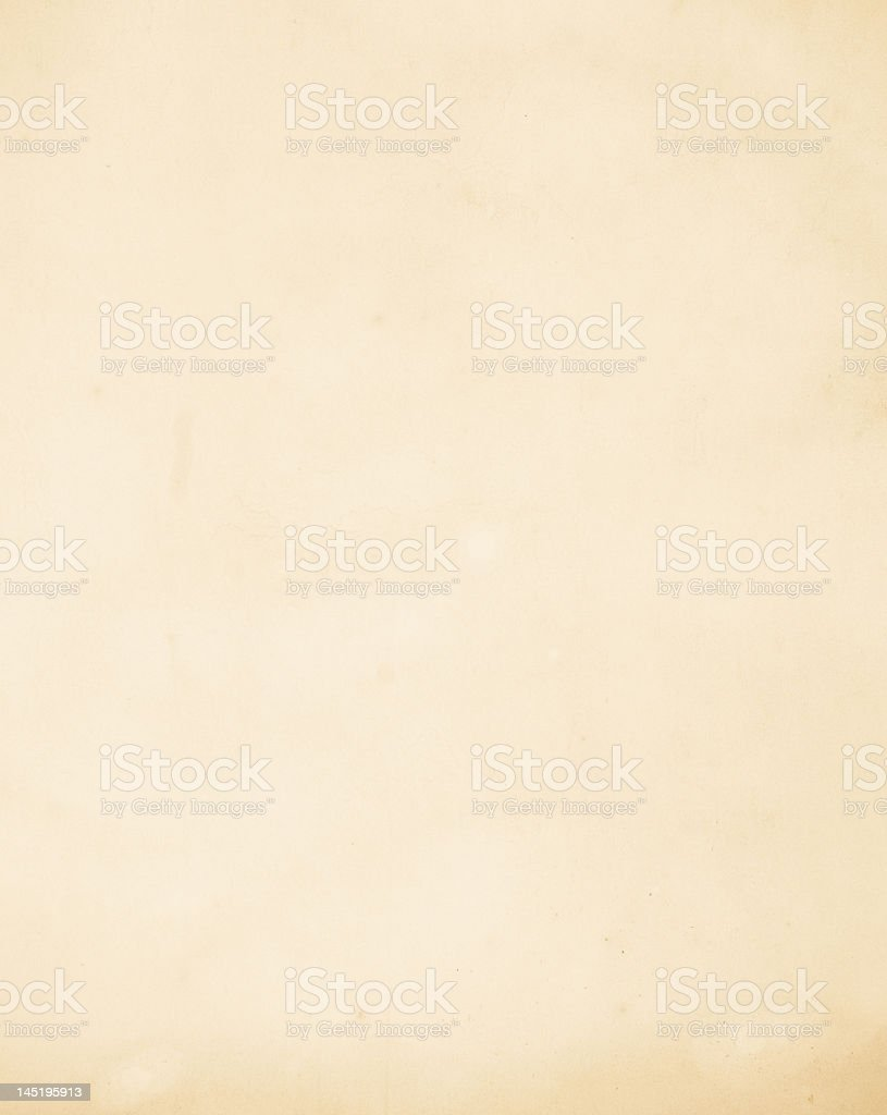 Light tan colored paper as an empty canvas royalty-free stock photo