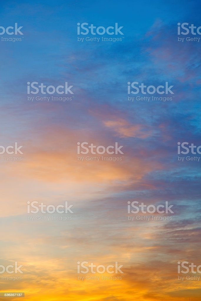 light  the sunrise in  abstract background stock photo