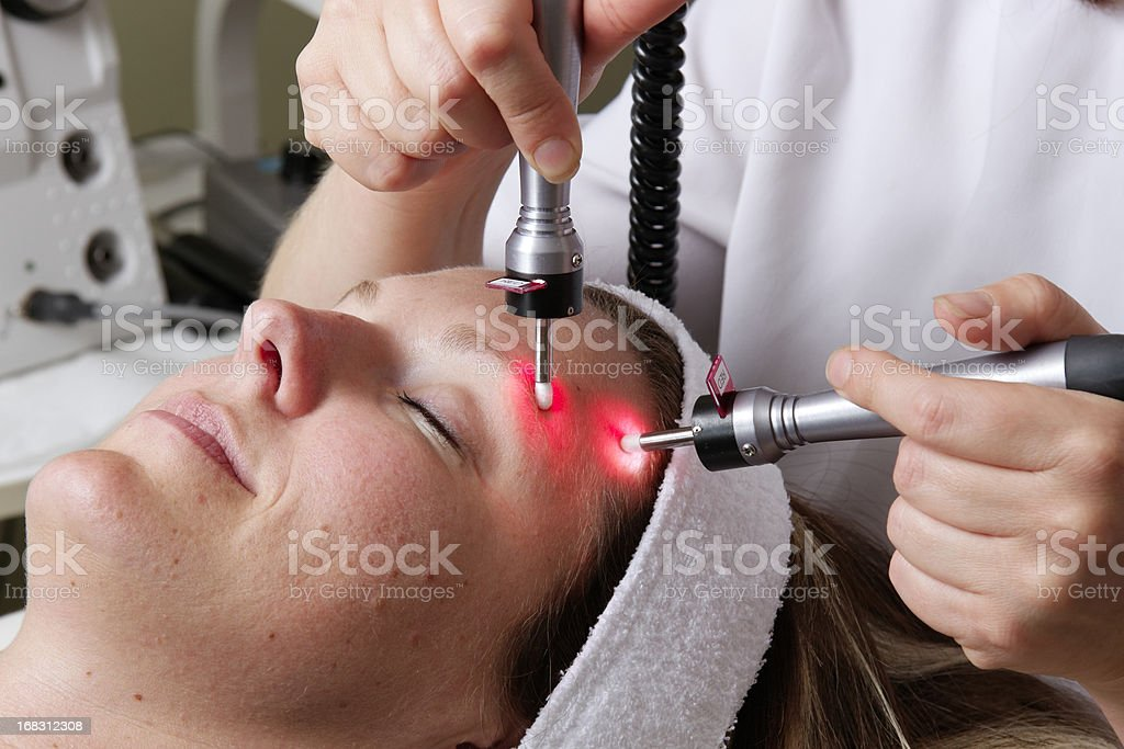Light Therapy royalty-free stock photo