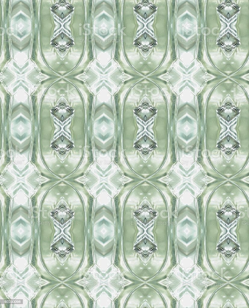Light through patterned glass stock photo
