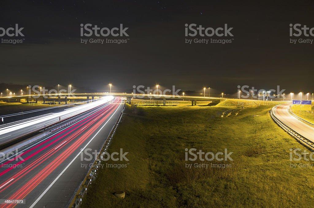 Light Trails stock photo