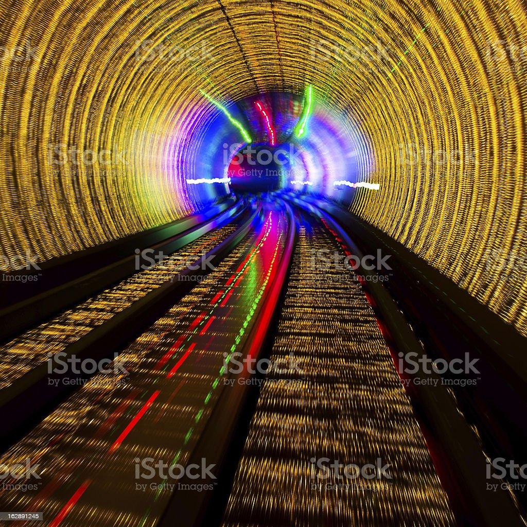 light tunnel royalty-free stock photo