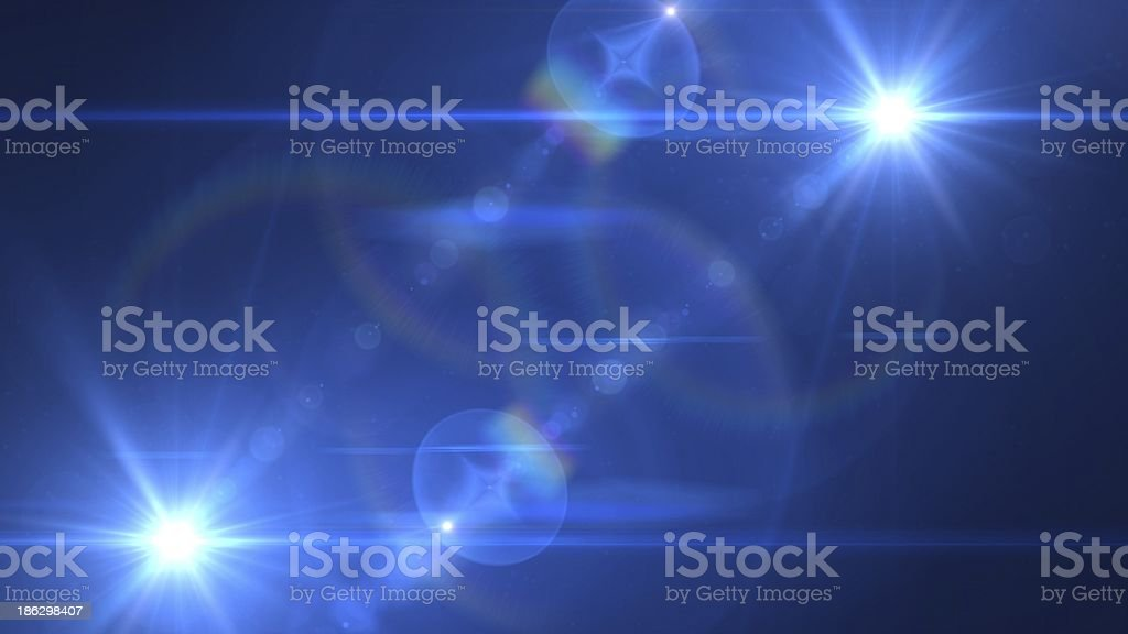 light twin reverseblue stock photo