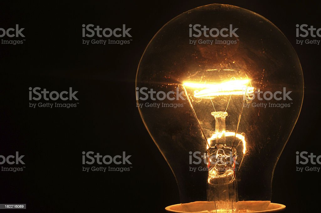 Light up the dark royalty-free stock photo