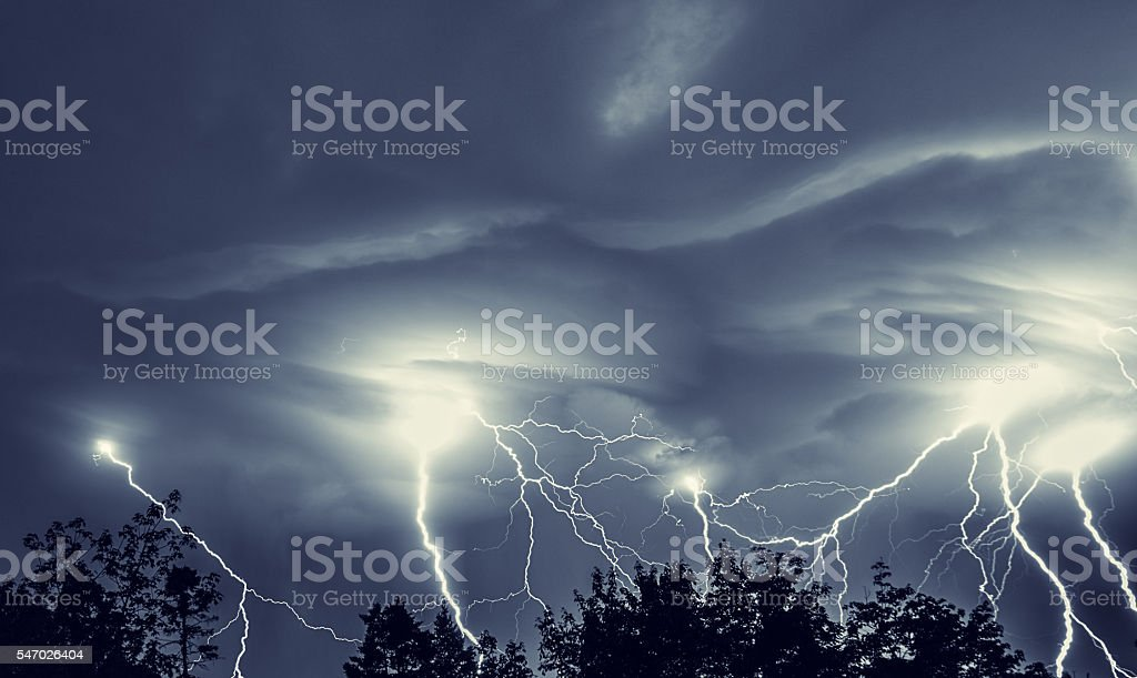Light Up the Night stock photo
