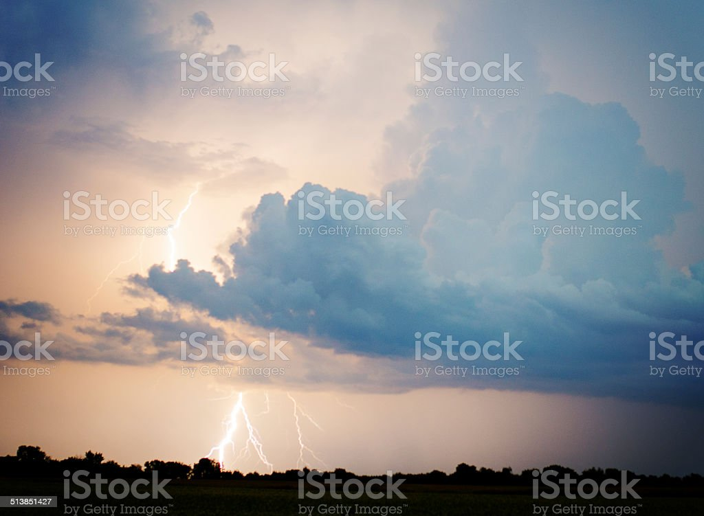 Lumière du ciel photo libre de droits