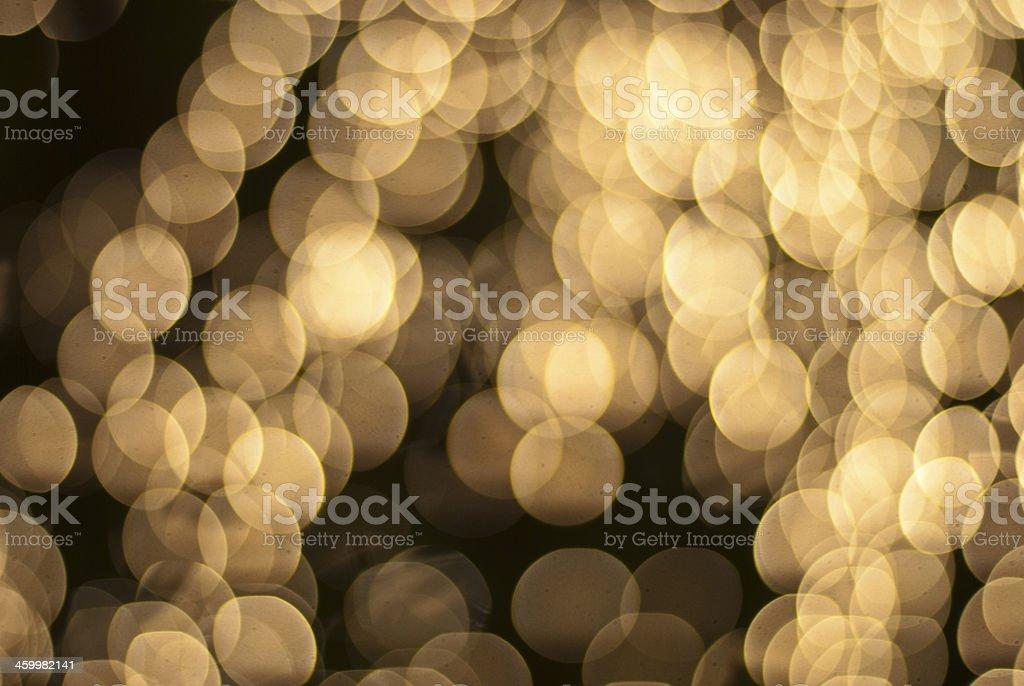 light via bokeh at night royalty-free stock photo