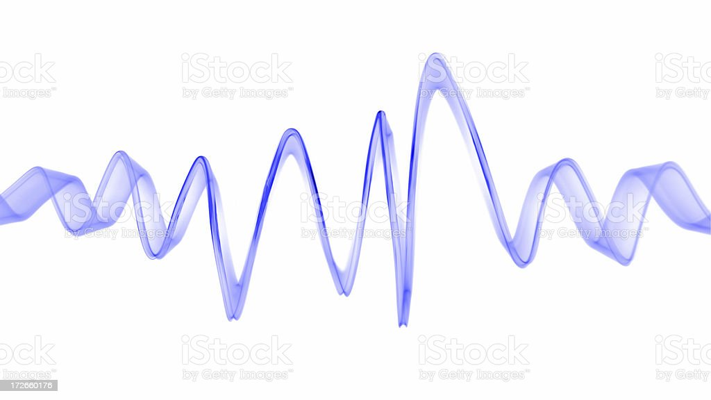 Light wave capture royalty-free stock photo