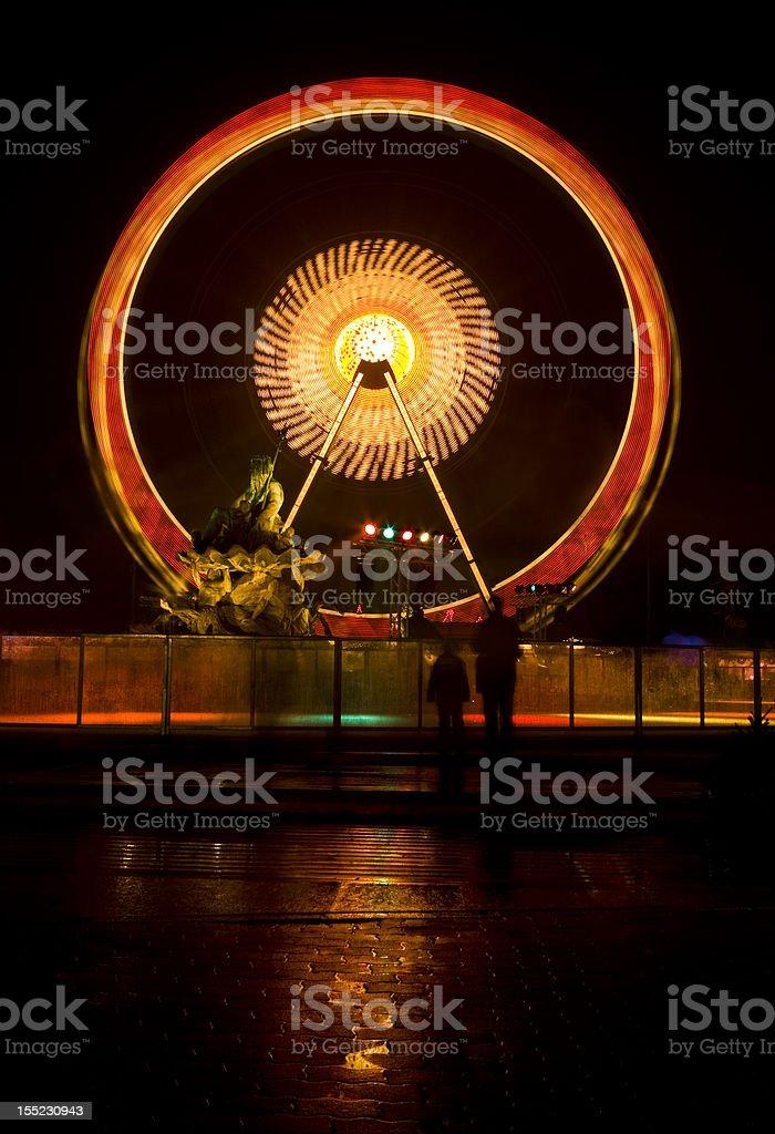 light wheel stock photo