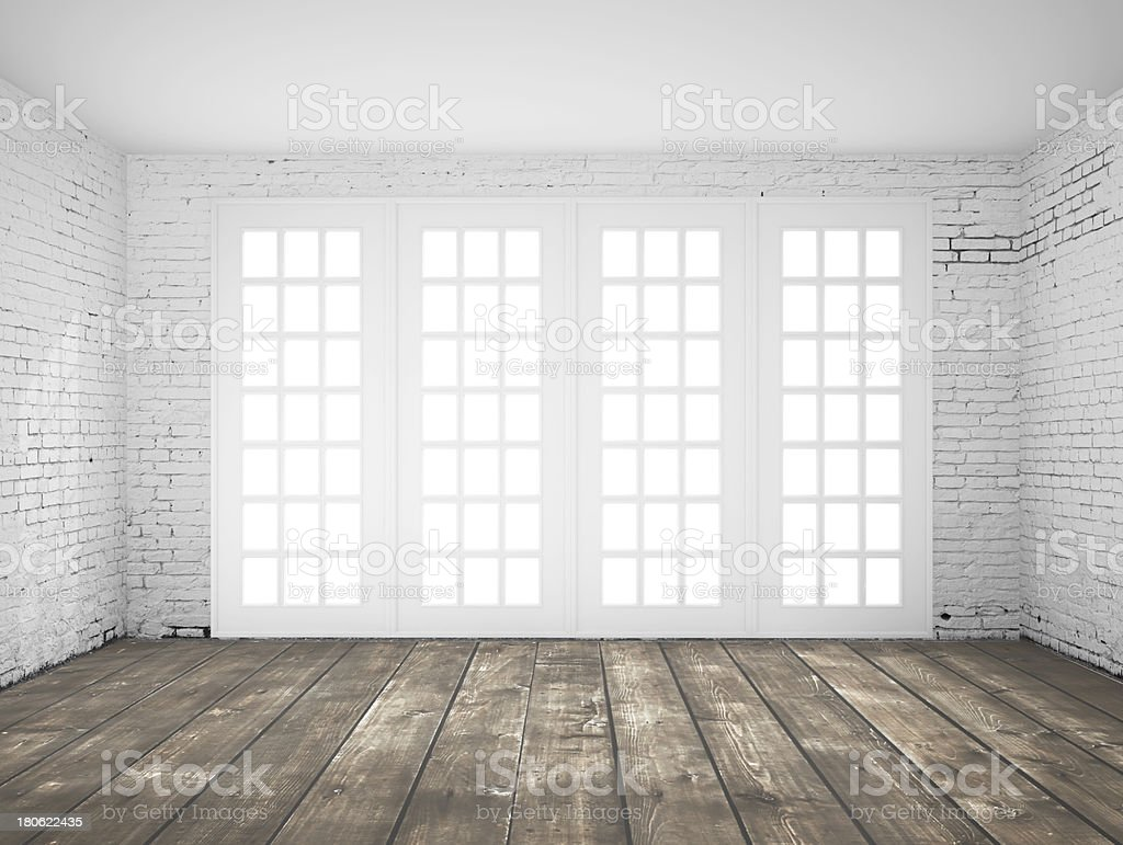 light white interior stock photo