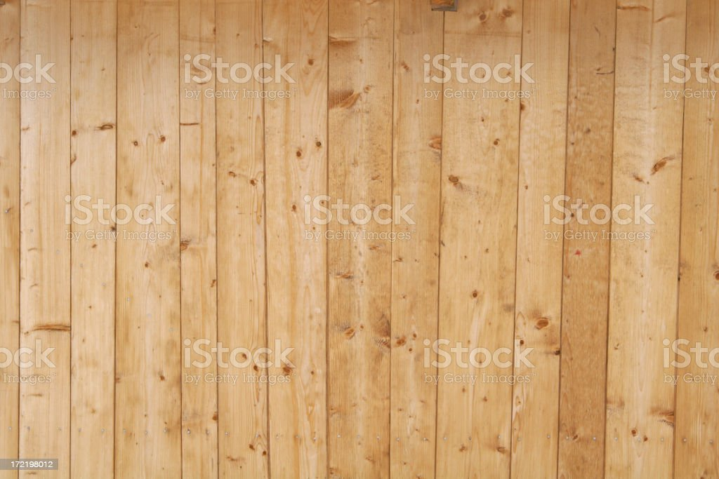 A light wooden fence background stock photo