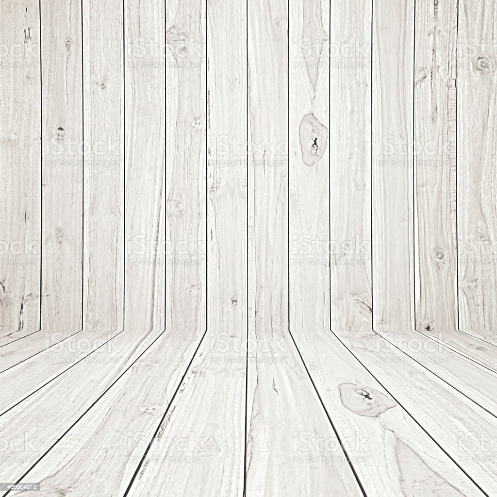 Light wooden room background stock photo