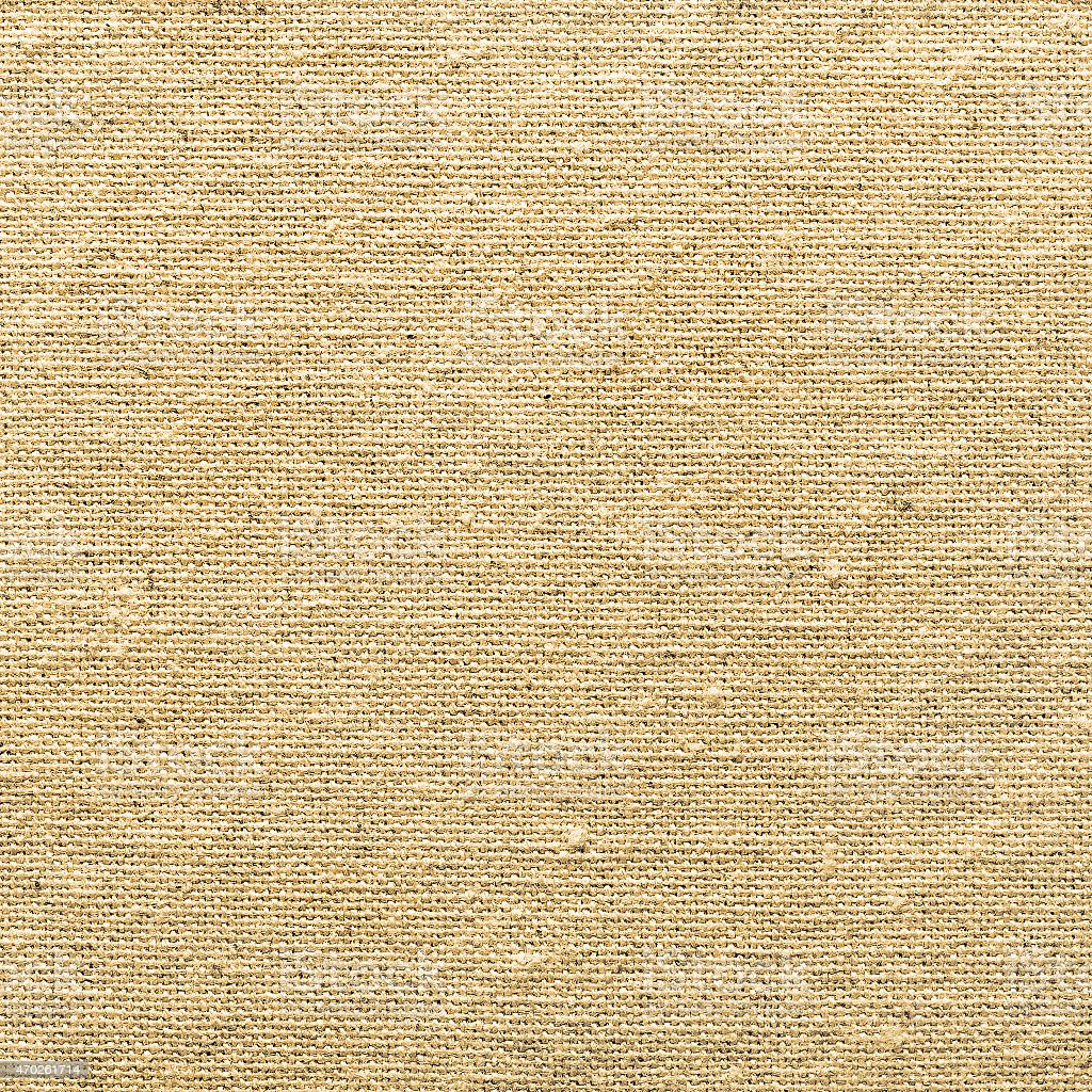 light yellow natural linen texture for the background stock photo