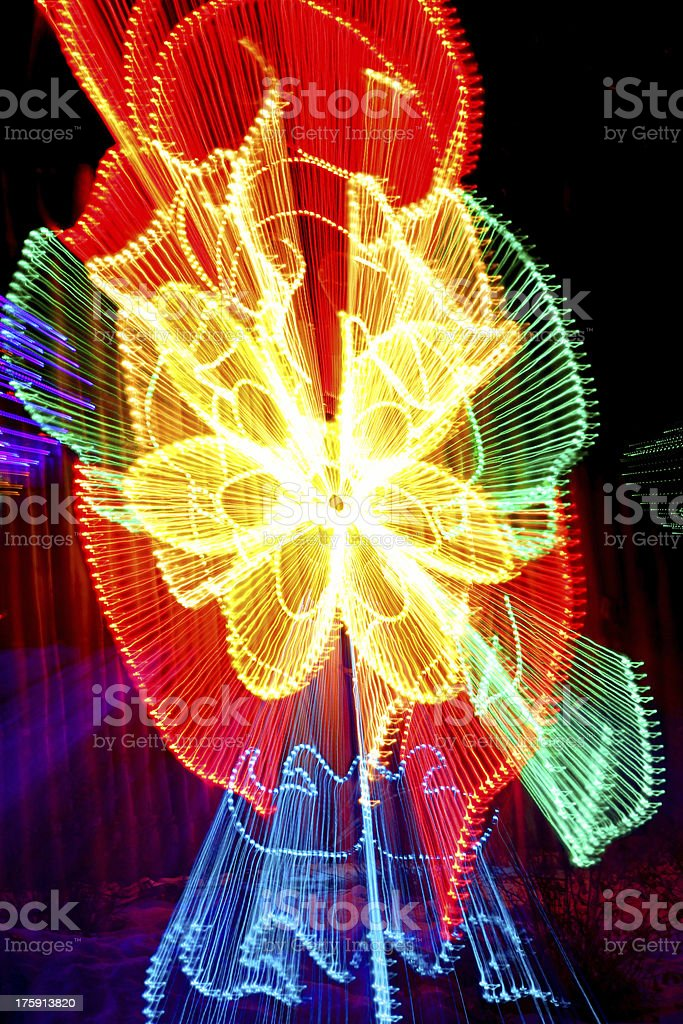 Light Zoom royalty-free stock photo
