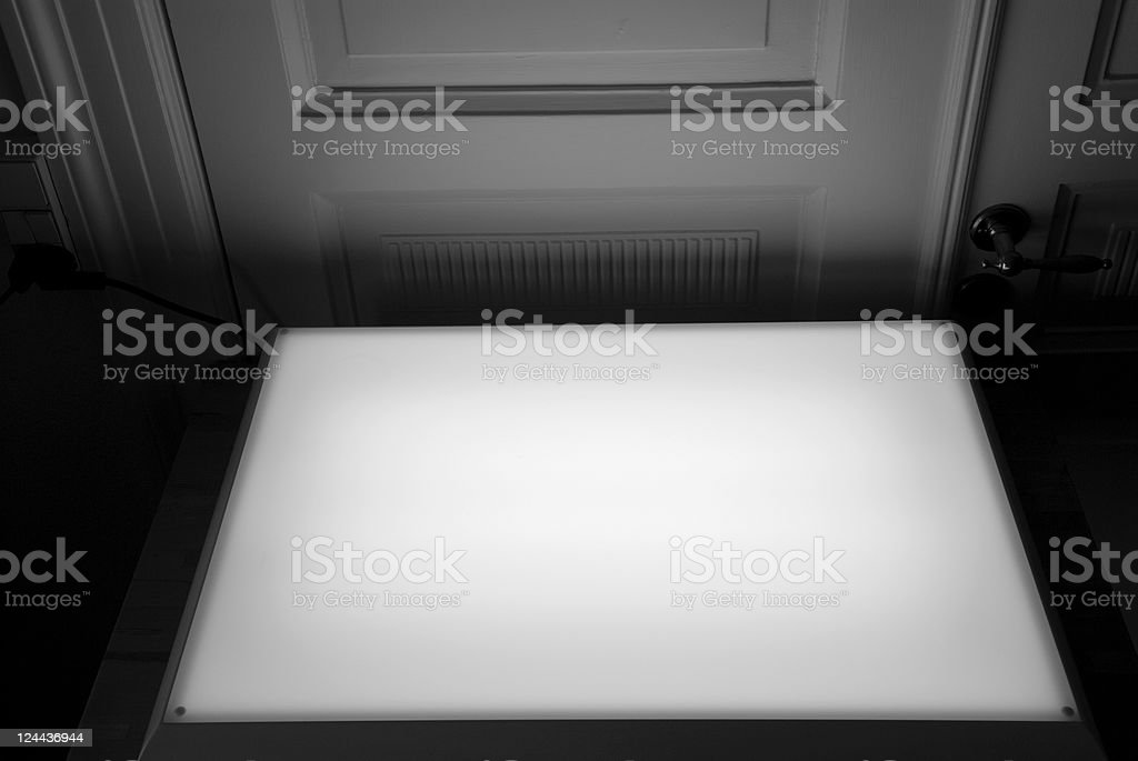 Lightbox stock photo