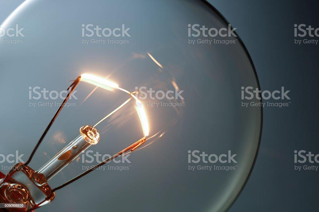 Lightbulb Close-up stock photo