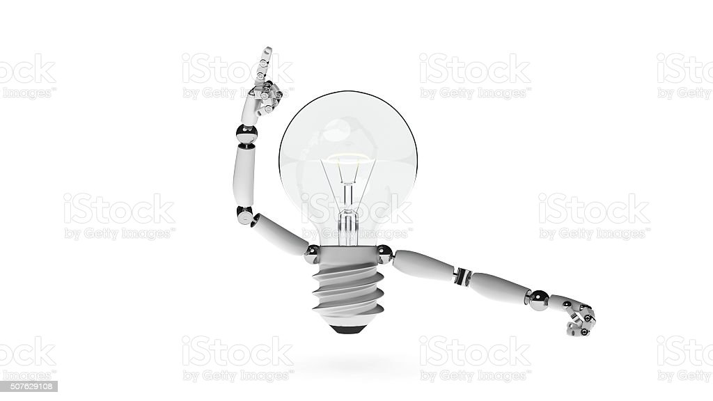 Lightbulb Idea stock photo
