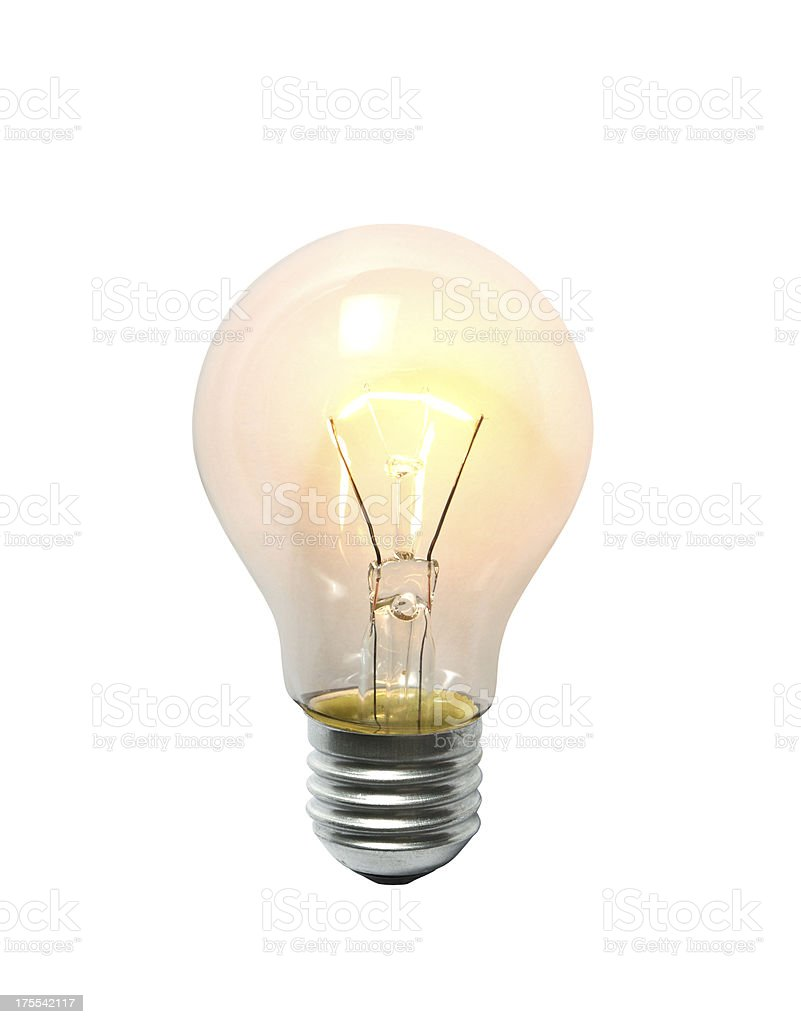 LightBulb stock photo