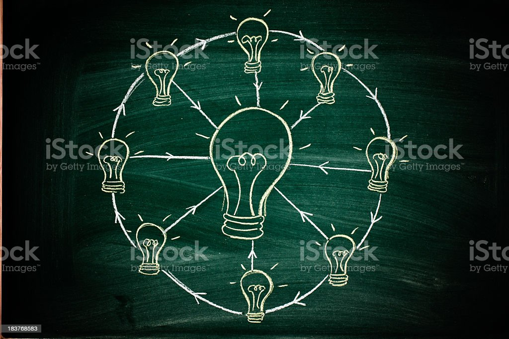 lightbulbs royalty-free stock photo