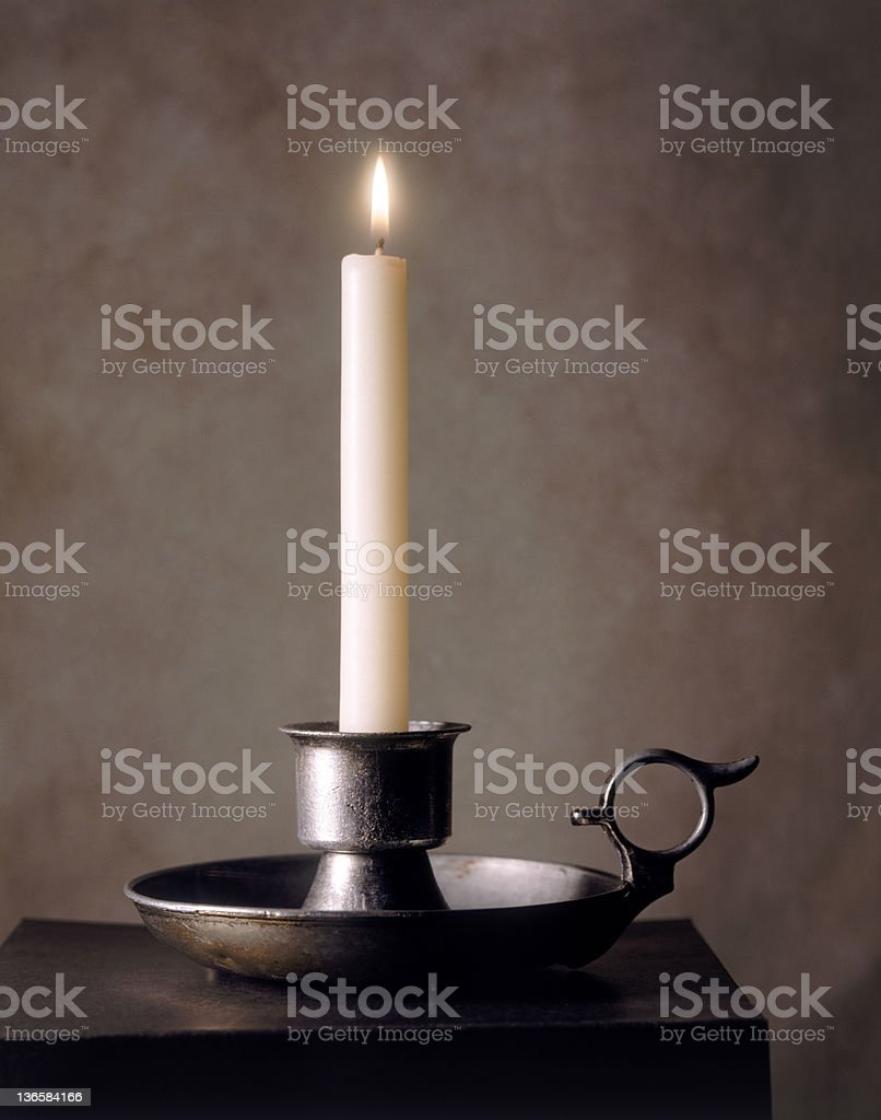 Lighted Candle royalty-free stock photo