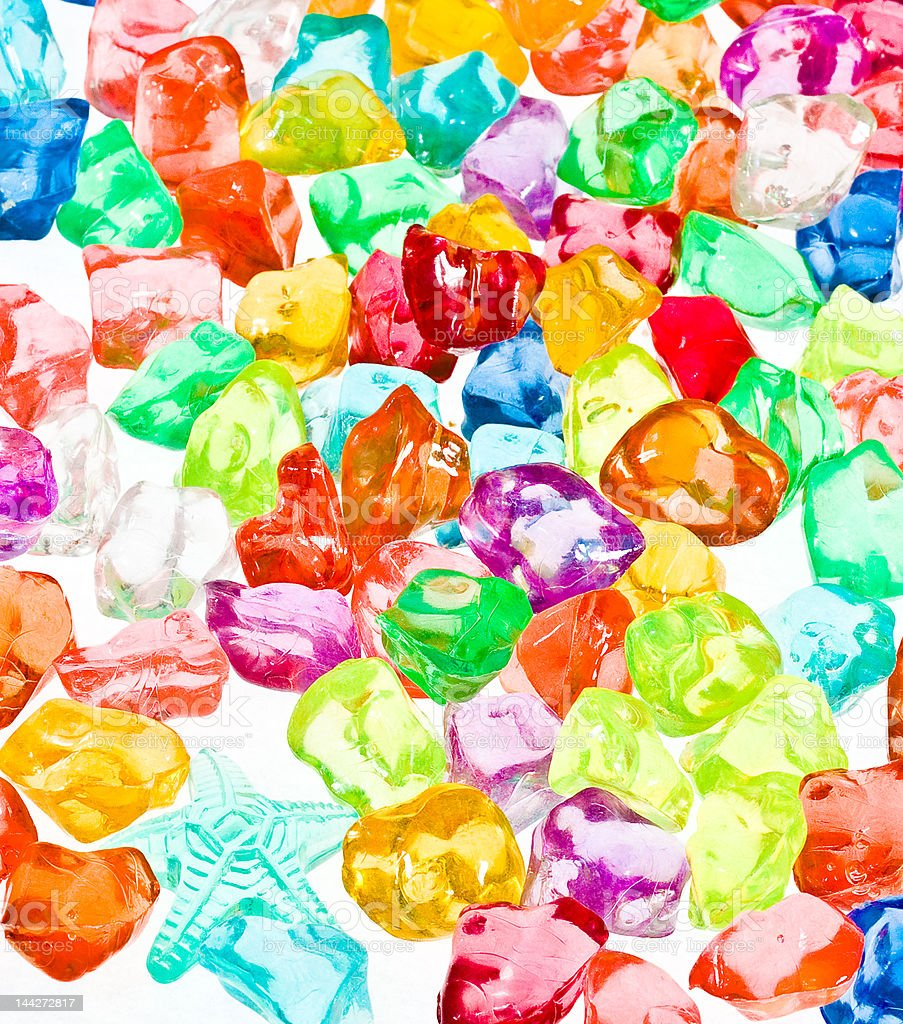 Lighted Colours royalty-free stock photo