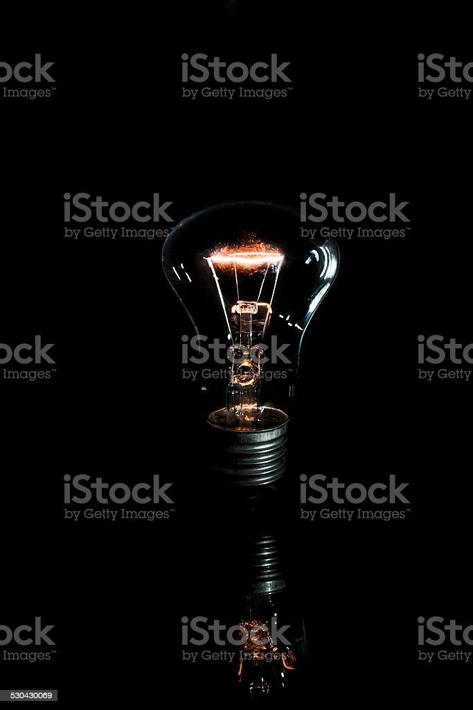 Lámpara de iluminación foto de stock libre de derechos