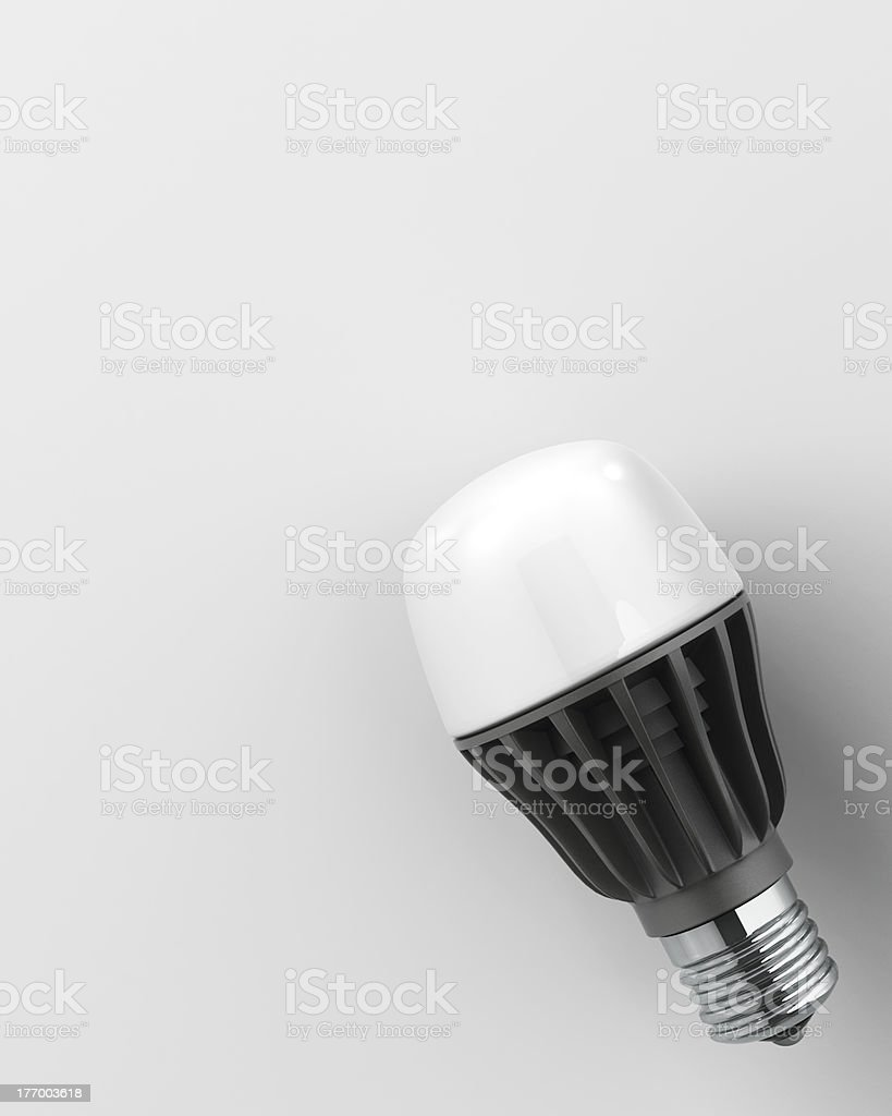 light-emitting diode lamp stock photo