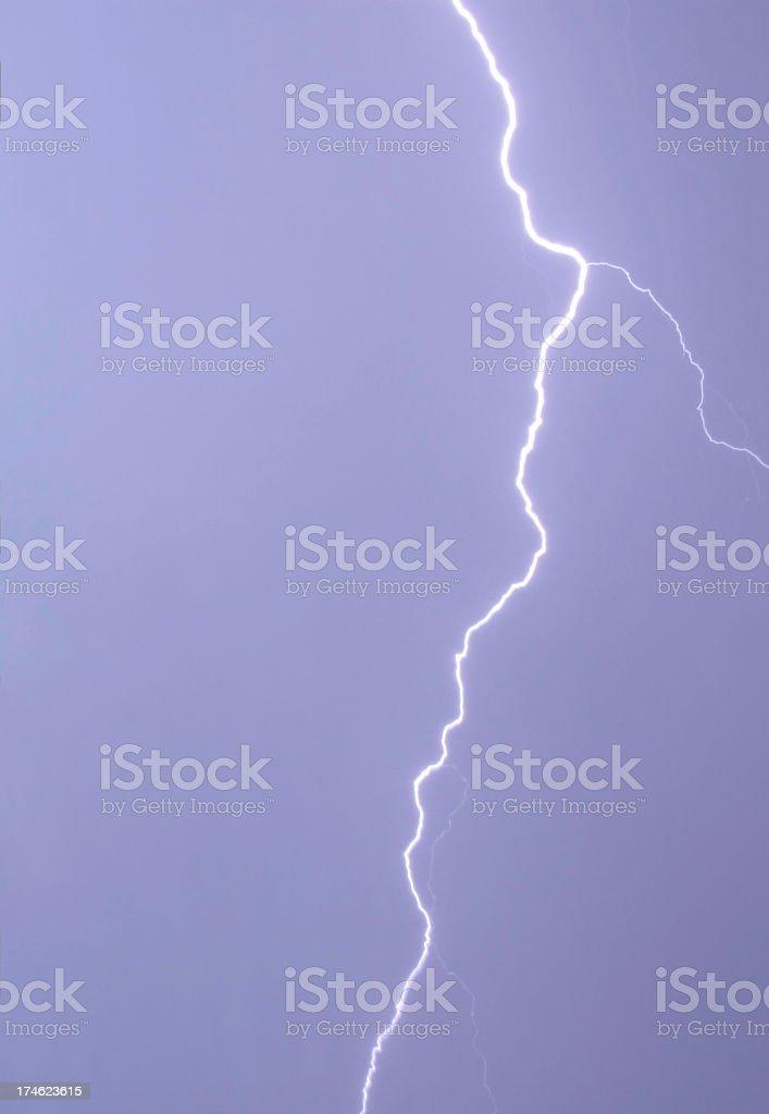 Lightening bolt royalty-free stock photo