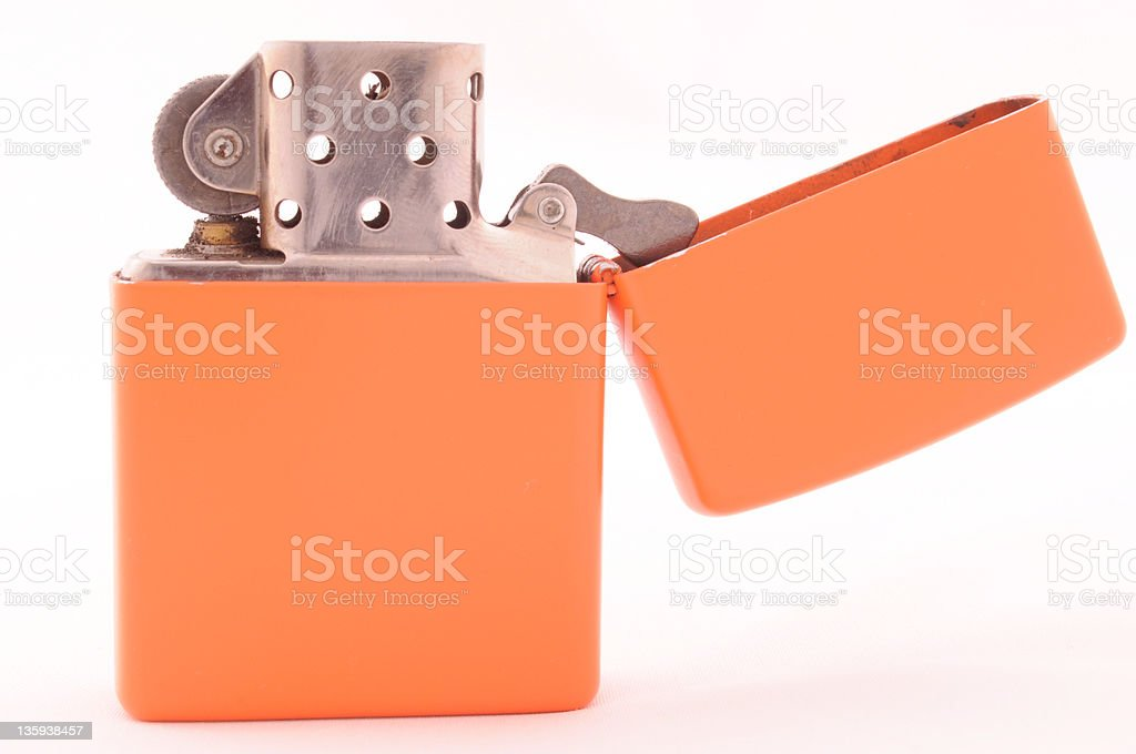 Lighter orange royalty-free stock photo