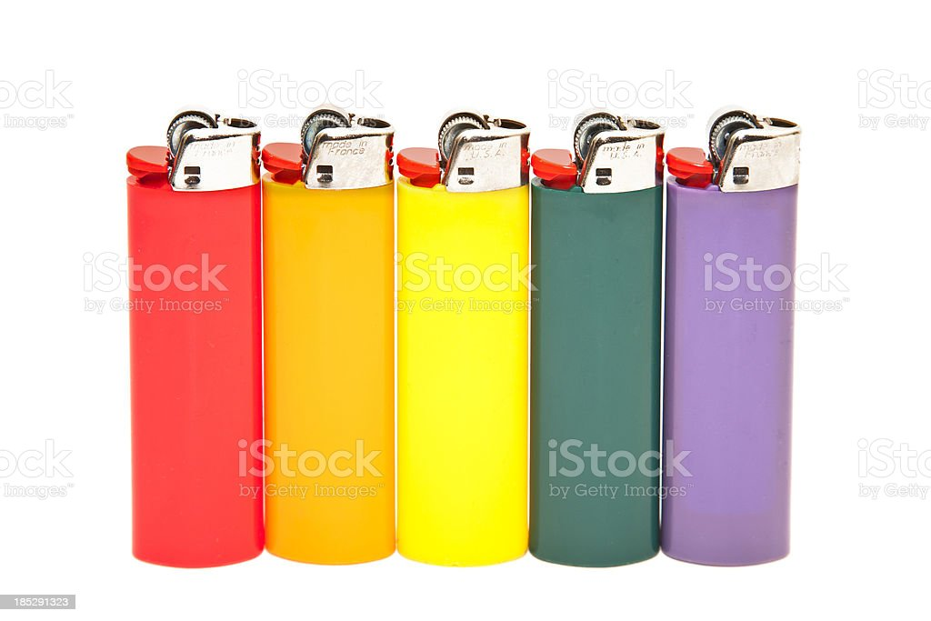 Lighters royalty-free stock photo