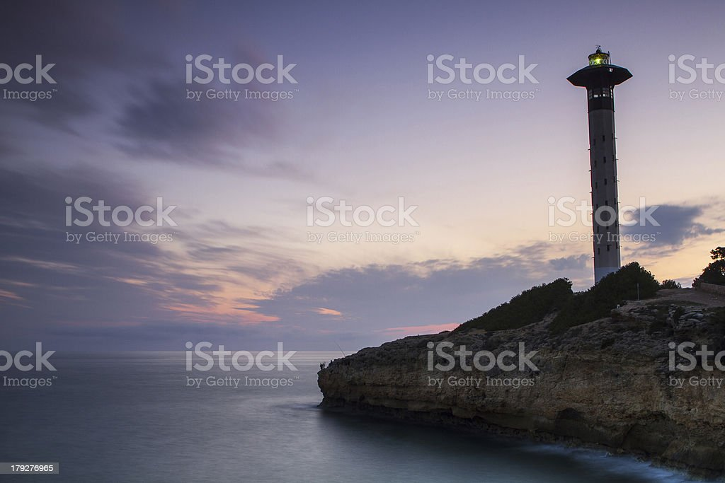 lighthause secure of live royalty-free stock photo