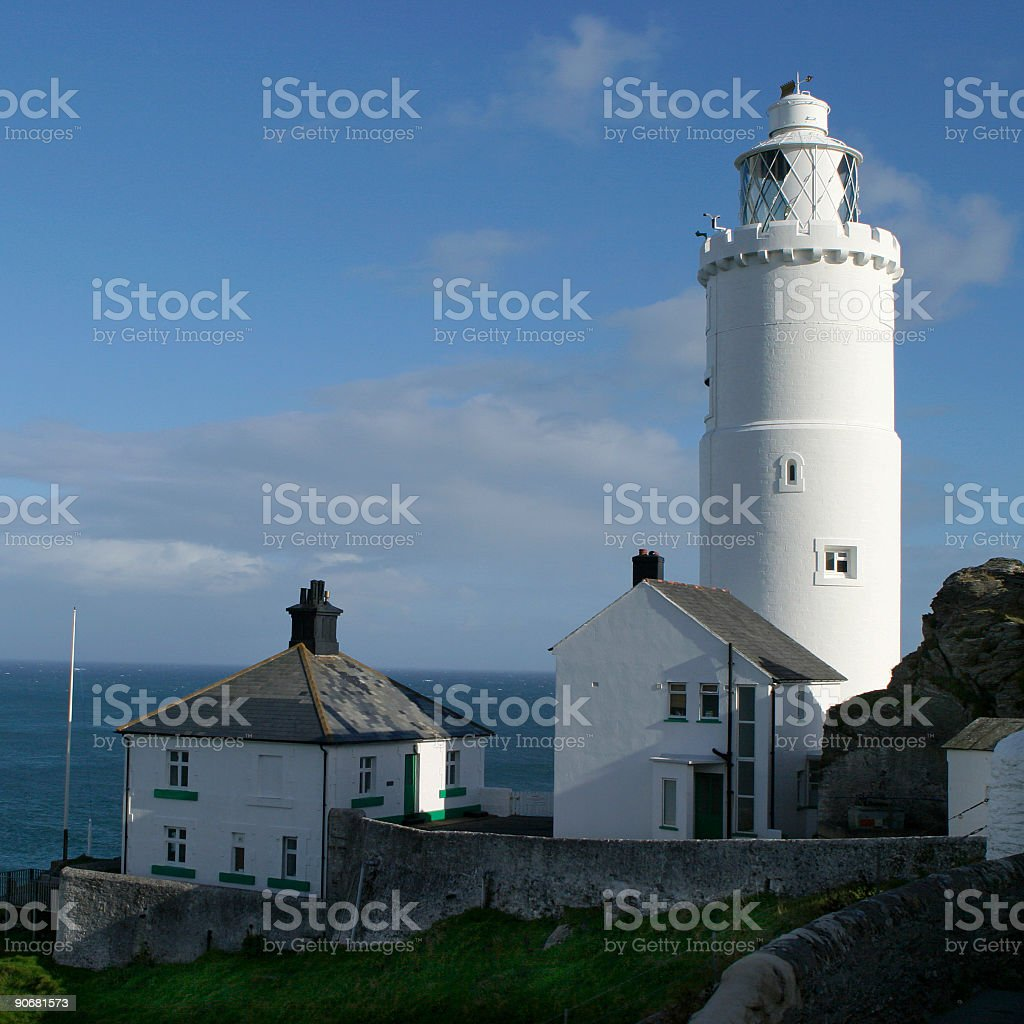 Lighthouse 001 royalty-free stock photo