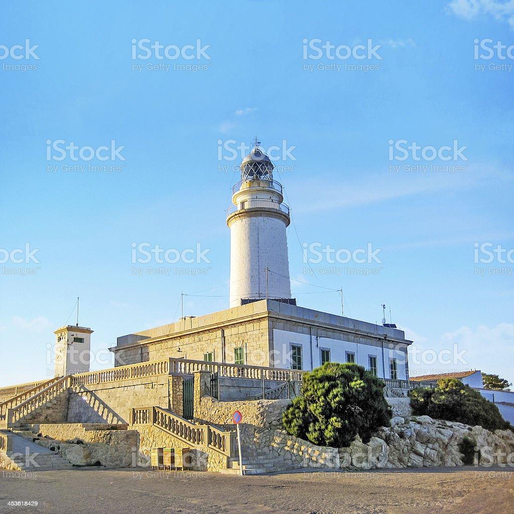 Lighthouse at Cap de Formentor, Majorca stock photo