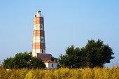 Lighthouse at Cape Shabla on the Black Sea Coast