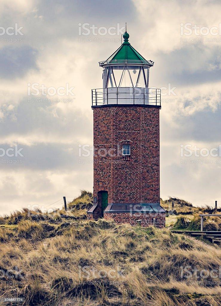 Lighthouse at Kampen - Sylt, Germany stock photo