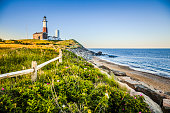 Lighthouse at Montauk point, Long Islans