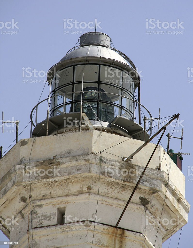 Lighthouse beacon stock photo
