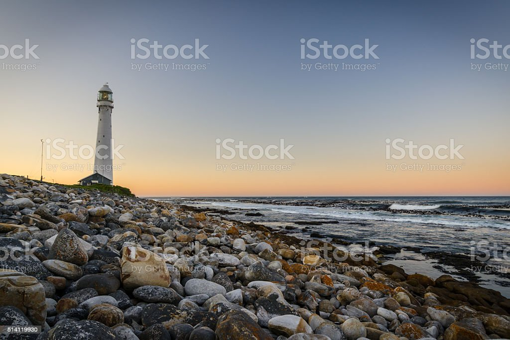 Lighthouse Cape Town stock photo