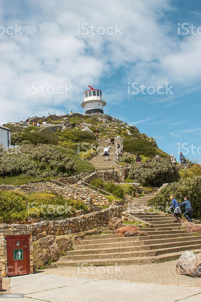 Lighthouse. Cape Town. South Africa royalty-free stock photo
