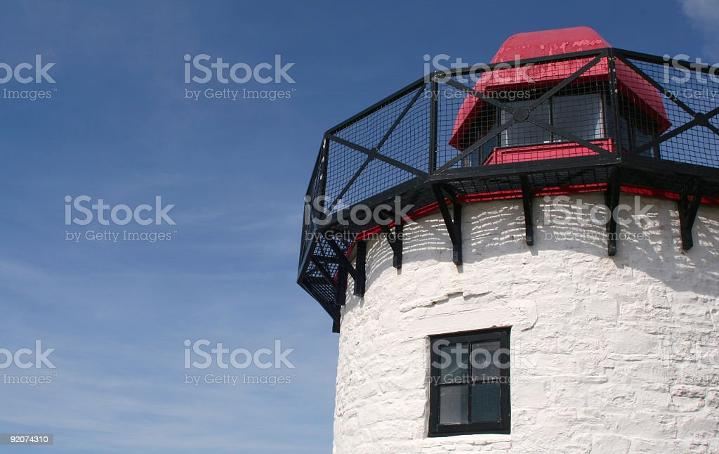 Lighthouse Detail royalty-free stock photo