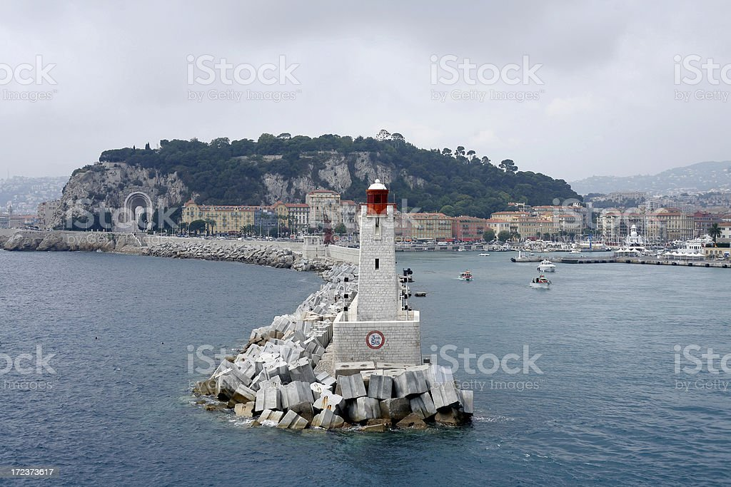 phare direction royalty-free stock photo