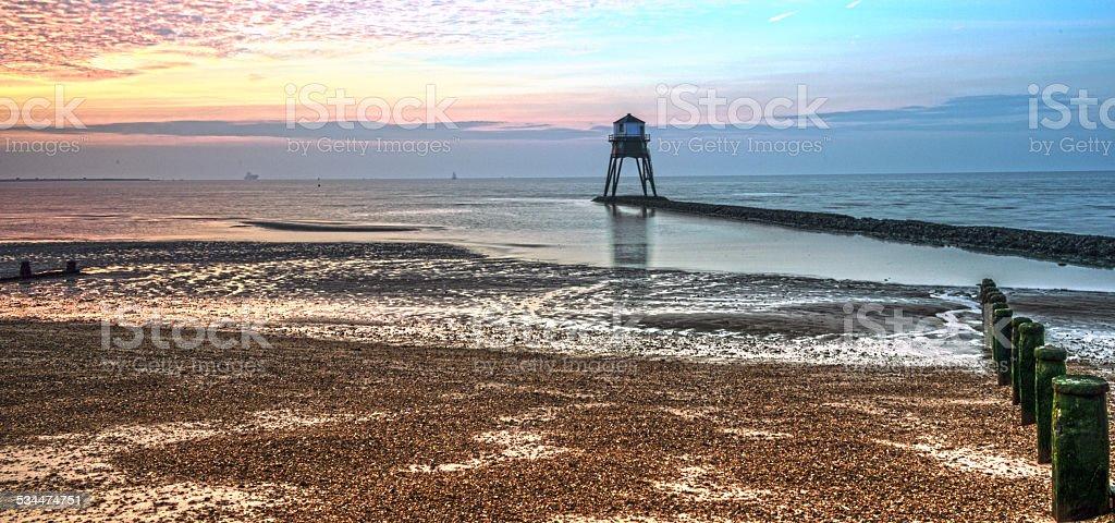 Lighthouse, Dovercourt stock photo