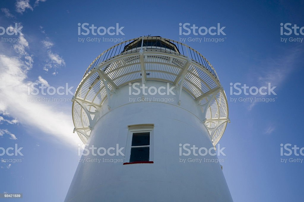 Lighthouse from Below royalty-free stock photo