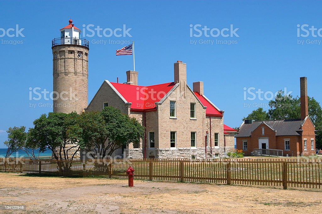 Lighthouse – Great Lakes royalty-free stock photo